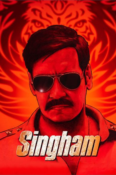 """Poster for the movie """"Singham"""""""