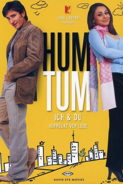 """Poster for the movie """"Hum Tum"""""""