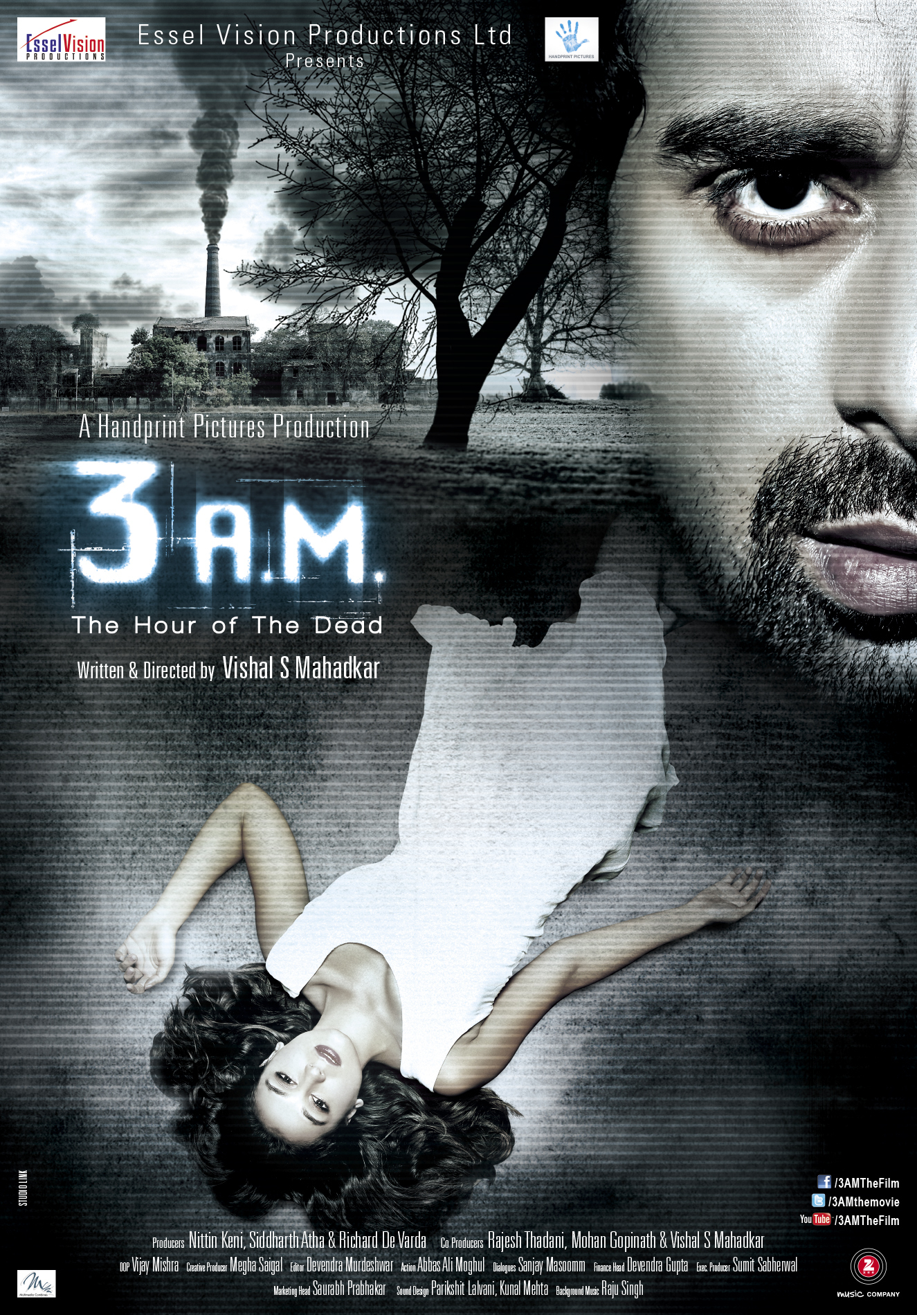 "Poster for the movie ""3 A.M"""