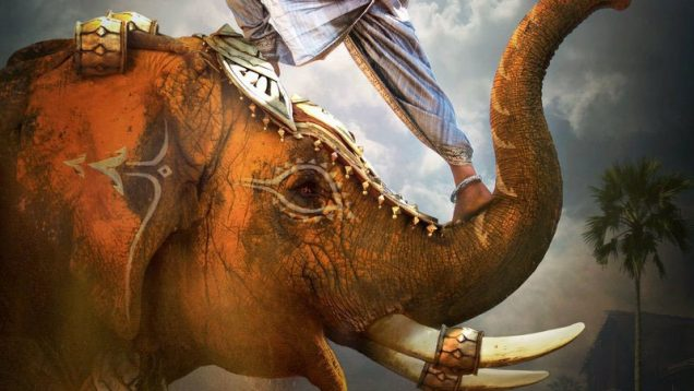 "Poster for the movie ""Baahubali 2: The Conclusion"""