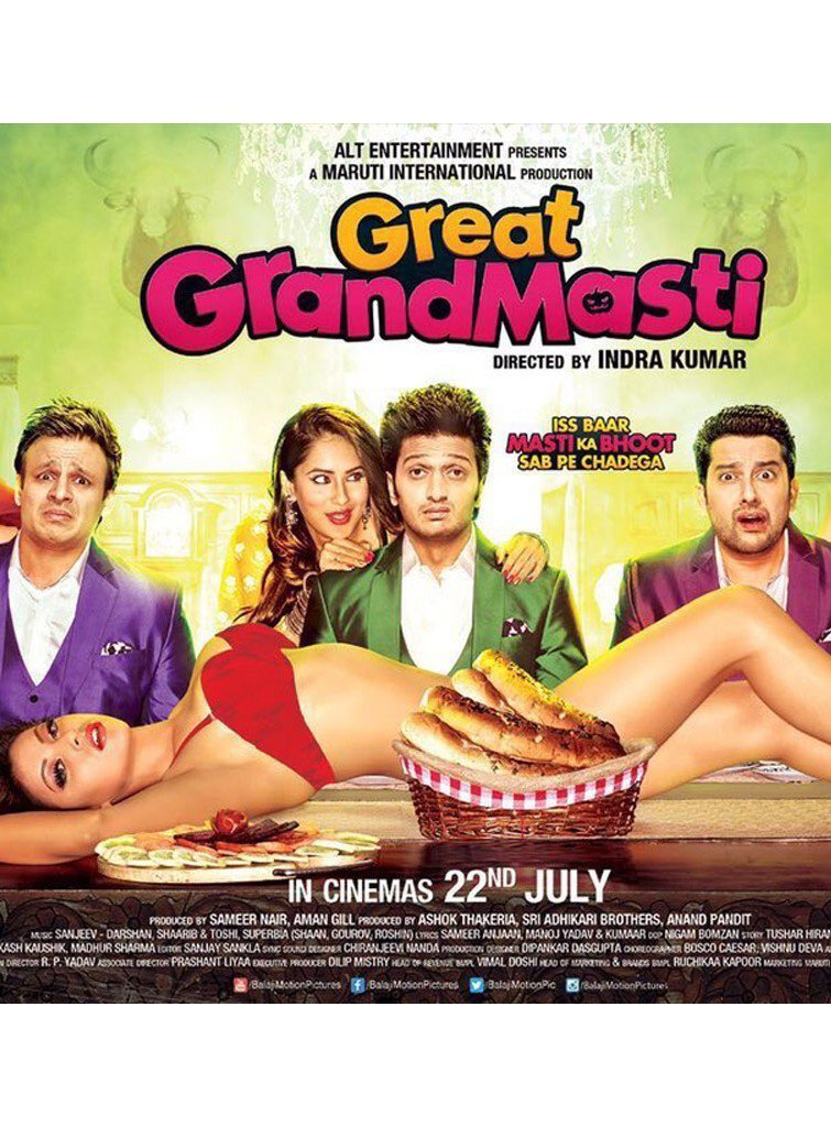 Great Grand Masti Afsomali