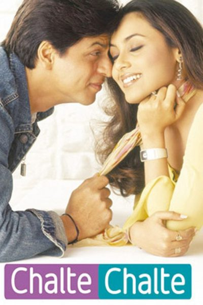 "Poster for the movie ""Chalte Chalte"""