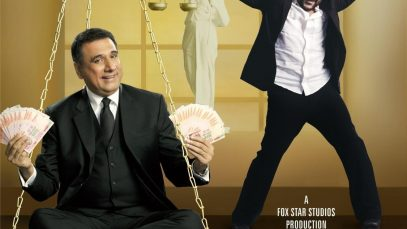 """Poster for the movie """"Jolly LLB"""""""