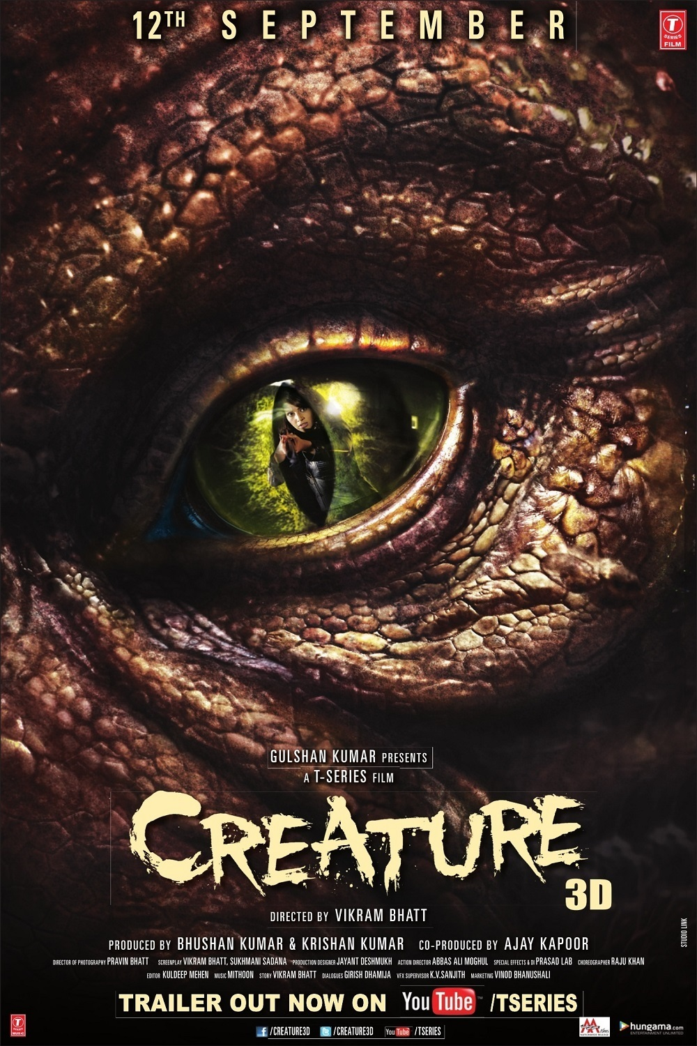 """Poster for the movie """"Creature"""""""