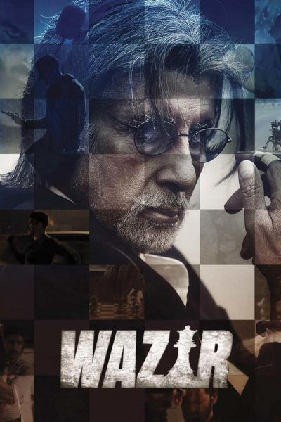 """Poster for the movie """"Wazir"""""""