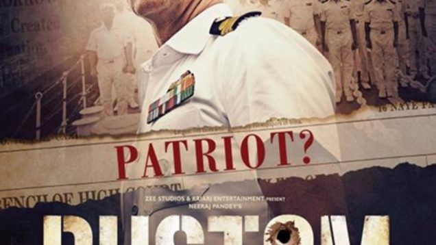 """Poster for the movie """"Rustom"""""""