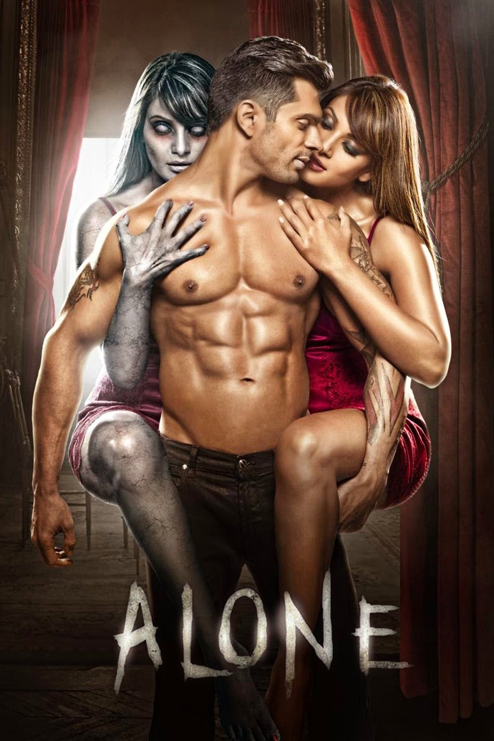 "Poster for the movie ""Alone"""